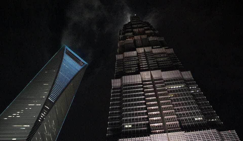 Virtual reality learning - Grand Hyatt hotel in Shanghai