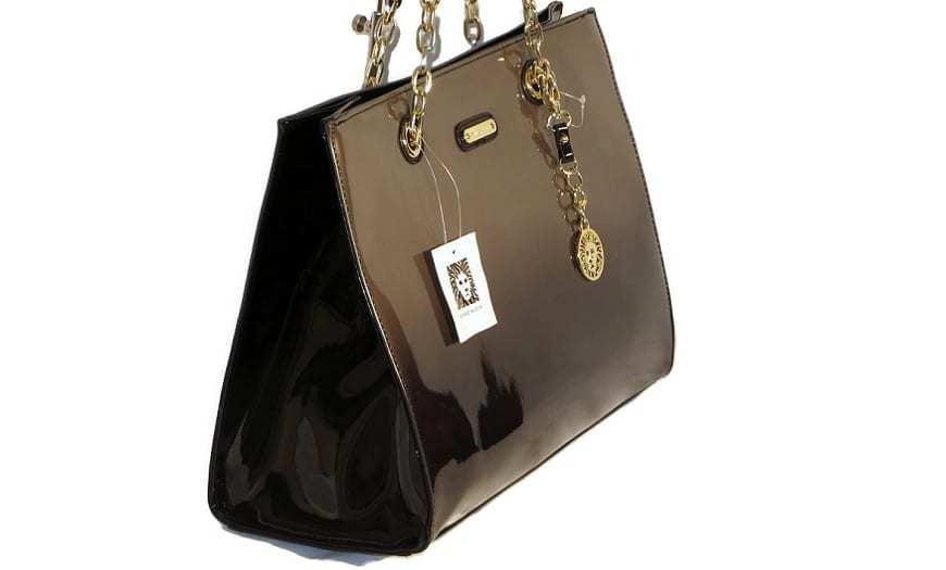 Anti-counterfeit tag - Anne Klein Handbag