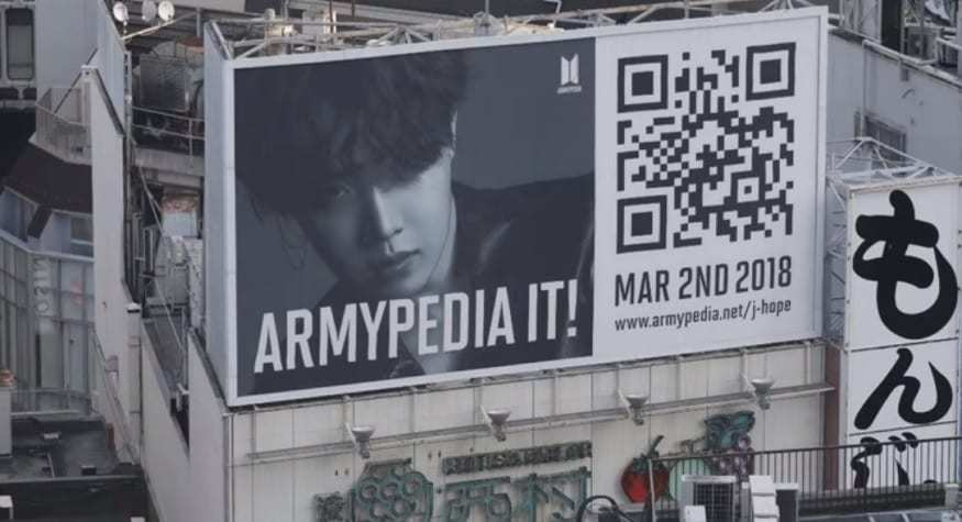 BTS QR Codes - ARMYPEDIA Campaign - YouTube