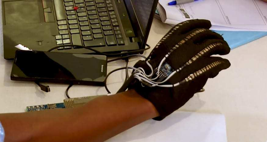 Wearable Technology - Sign IO - YouTube