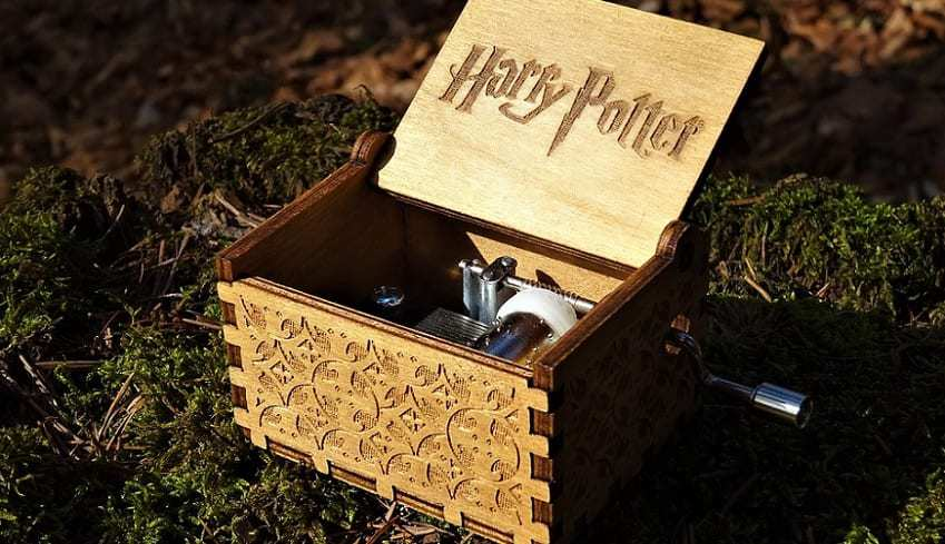 Harry Potter mobile Game - Harry Potter Music Box