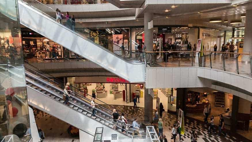 Mobile tracking tech - Shopping Mall