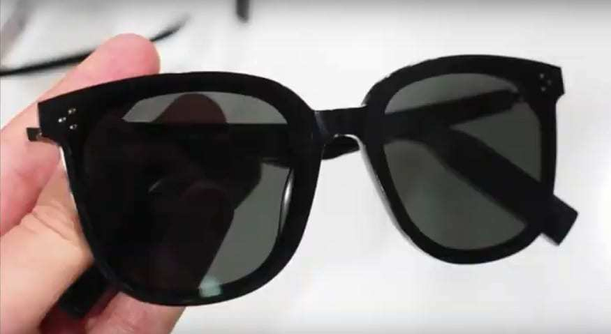 Huawei smart glasses - Image from YouTube