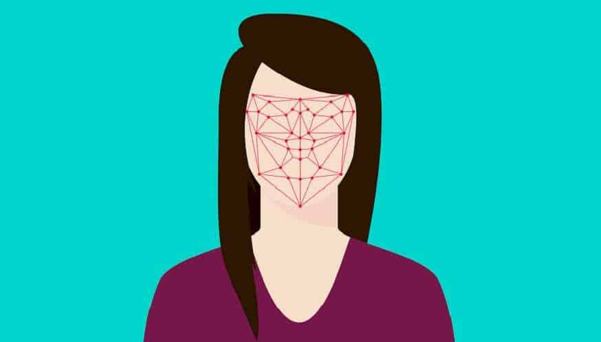 US facial recognition - facial recognition tech - woman