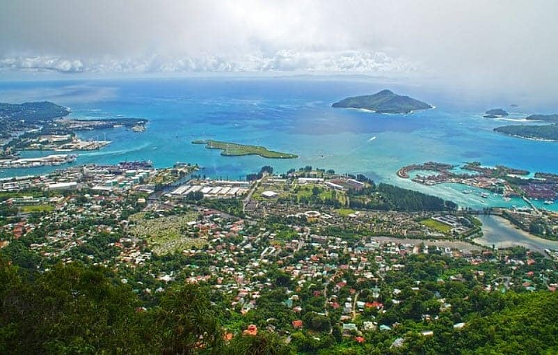 Yachting in the Seychelles
