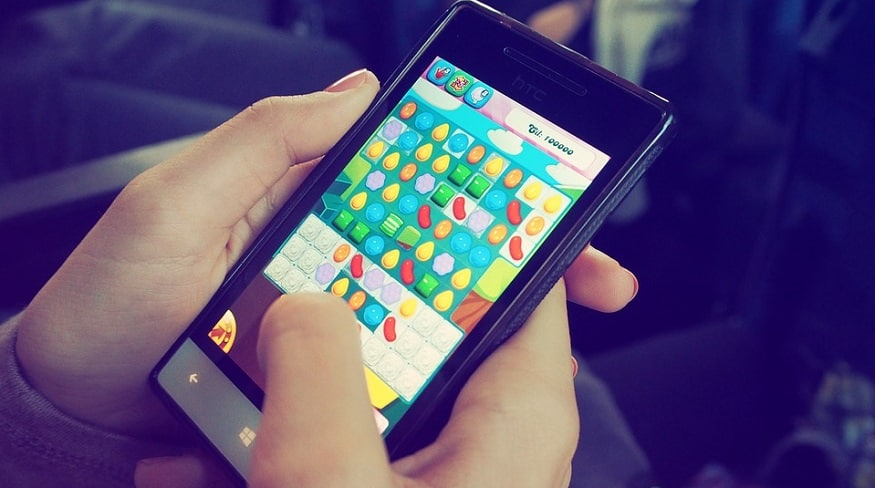 US mobile consumers - mobile game