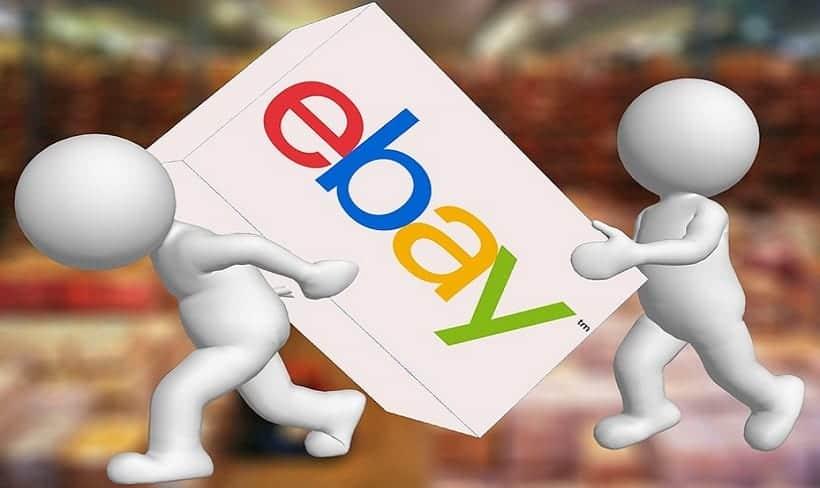 eBay QR Code - eBay box