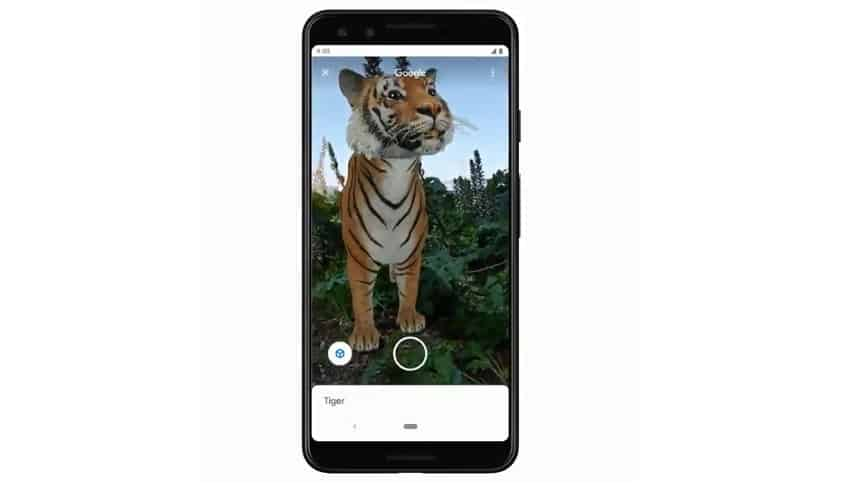Google Search AR Feature - AR animal search - Google