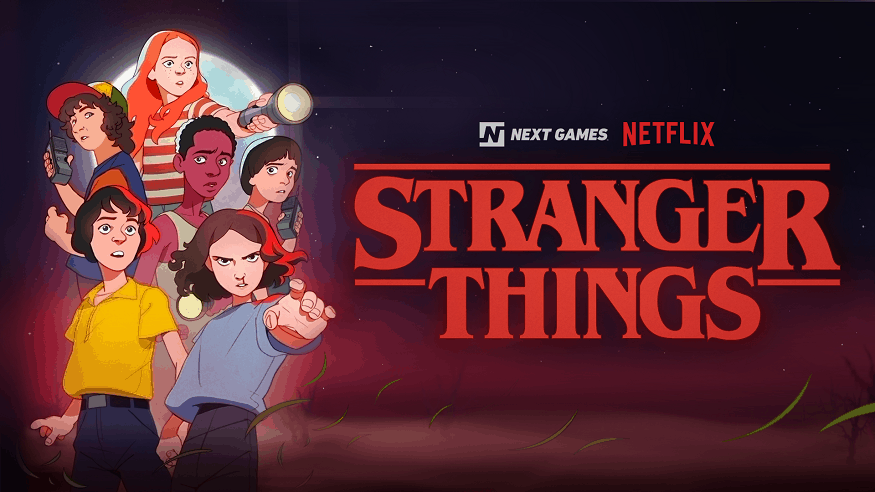 Stranger Things Mobile Game - Next Games - Netflix