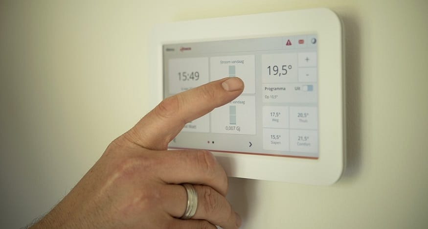 Temperature Control Wearable Technology - Thermostat
