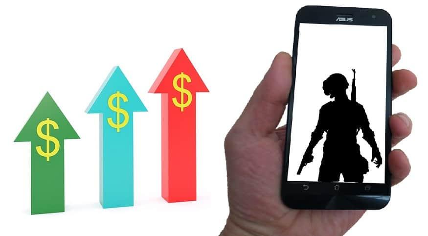 Top Grossing Mobile Game - PUBG Mobile - Revenue