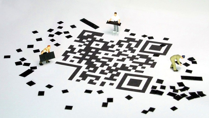 Unified QR code payments - figures building QR code