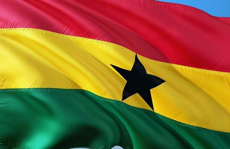 Ghana Universal QR Code - Ghana Flag