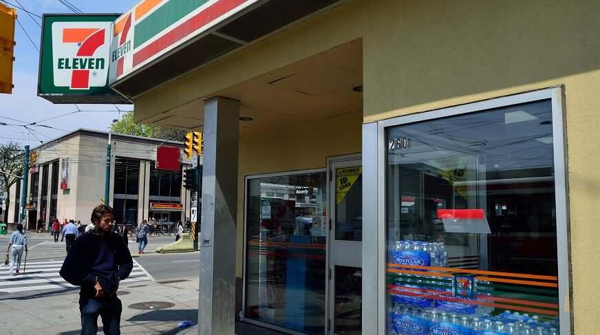 Mobile Checkout Feature - 7-Eleven Store