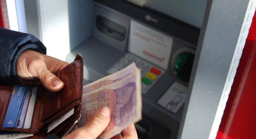 QR Code cash withdrawals - ATM money