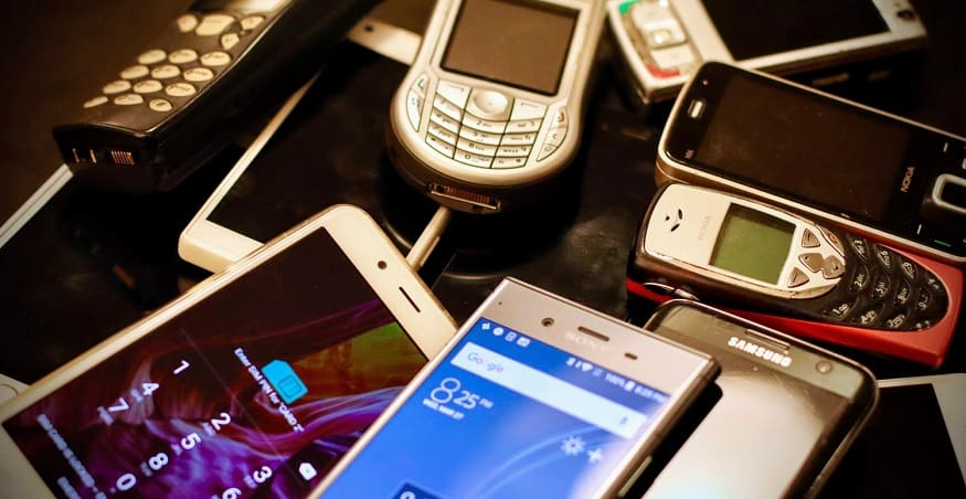 cell phone recycling - mobile phones