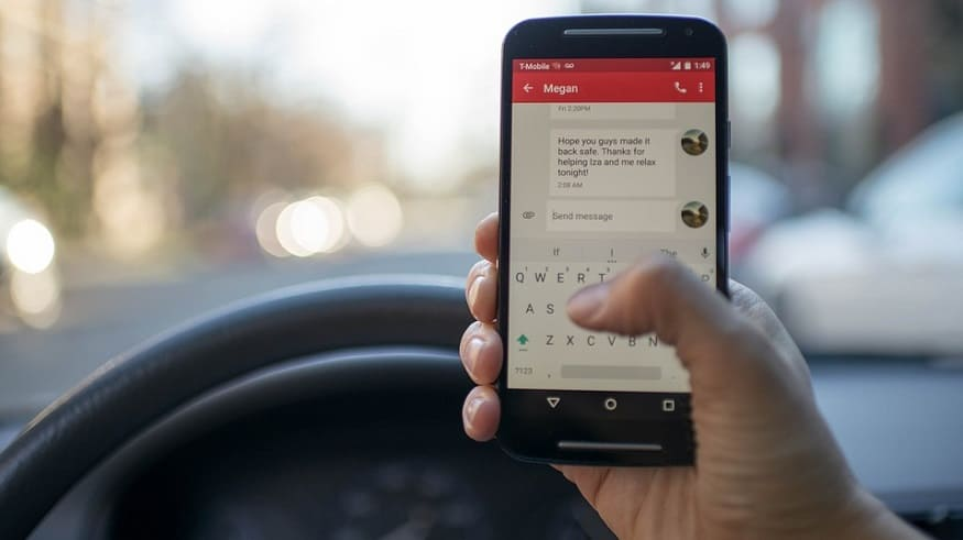 Distracted Driving - Texting while driving