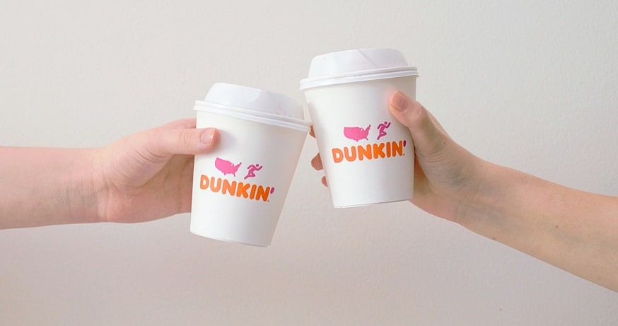 Dunkin' App - Dunkin' cups
