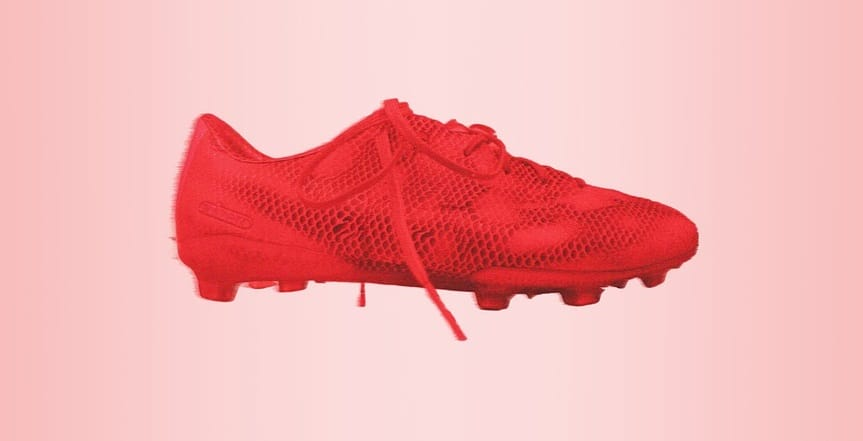 Snapchat Adidas mobile game - Image of Adizero Red Adidas Shoes