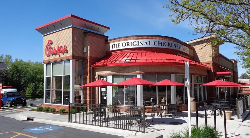 Chick-fil-A QR codes - Chick-fil-A restaurant