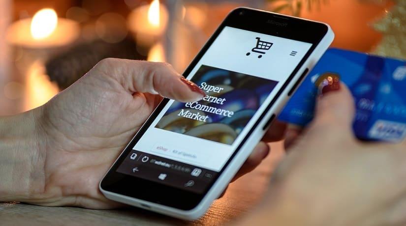 online shopping fraud - shopping via mobile
