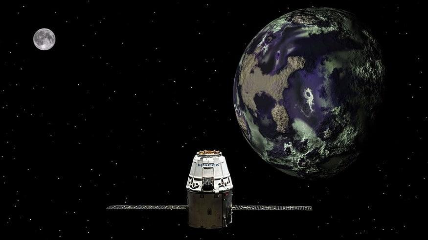 Apple satellite - Space - Satellite - Earth