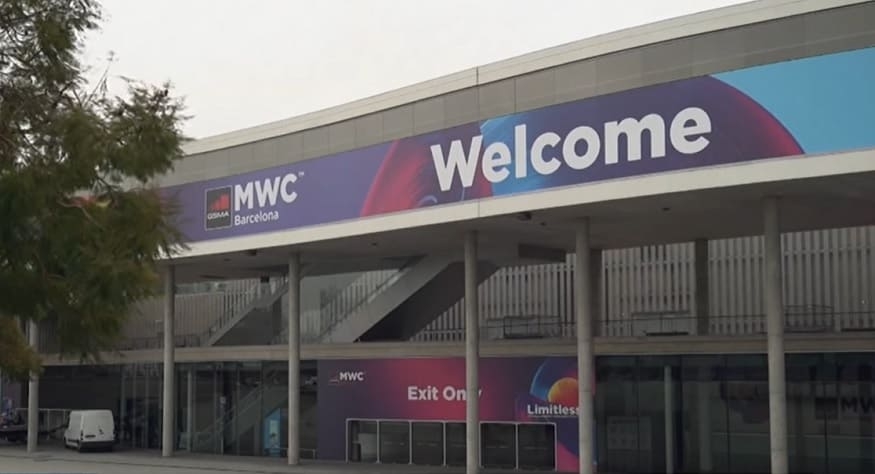 Mobile World Congress Cancelled - MWC Event Building - Bloomberg YouTube