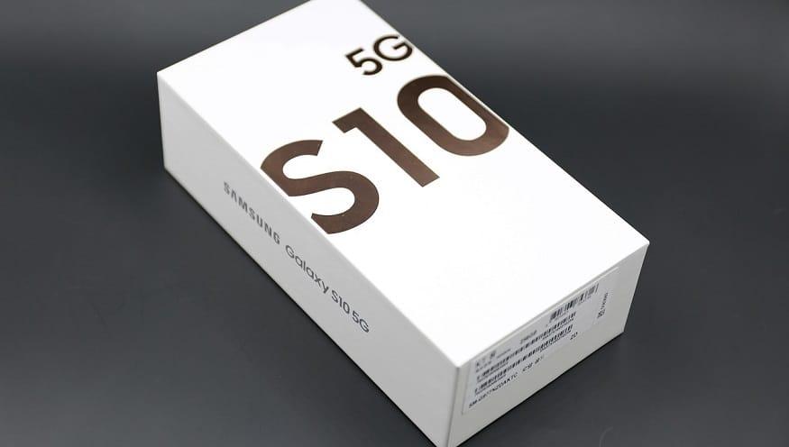 5G smartphones - Samsung Galaxy S10 5G