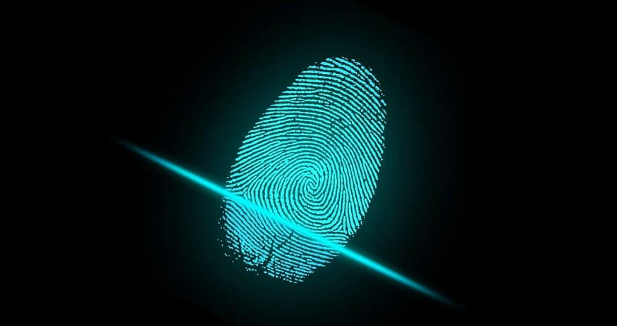 Biometric scanners - fingerprint scan