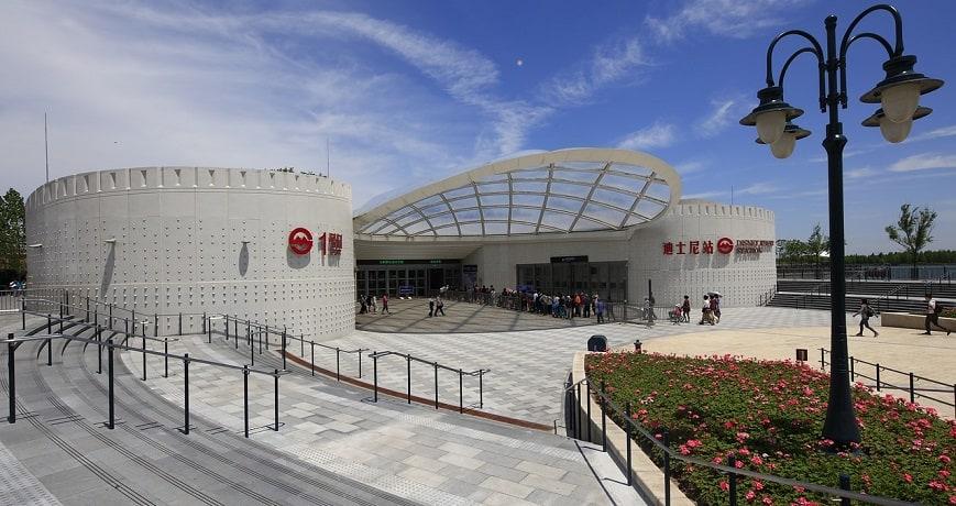 QR Code checks - Shanghai Disney Metro Station