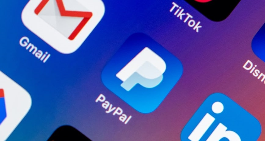 Contactless QR code payments - PayPal app