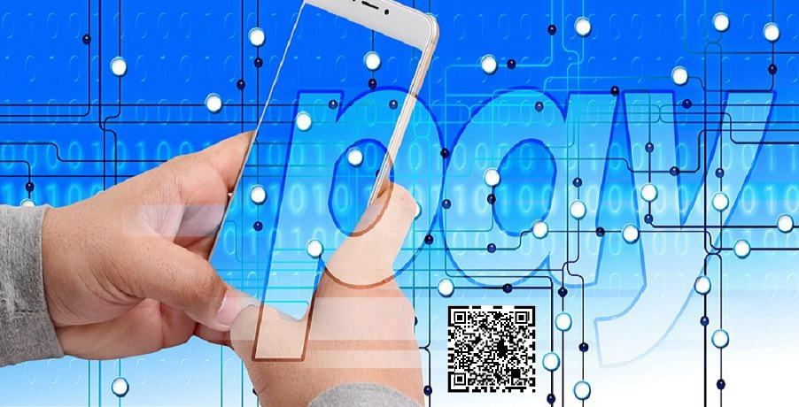 Universal QR code - Making payment with mobile