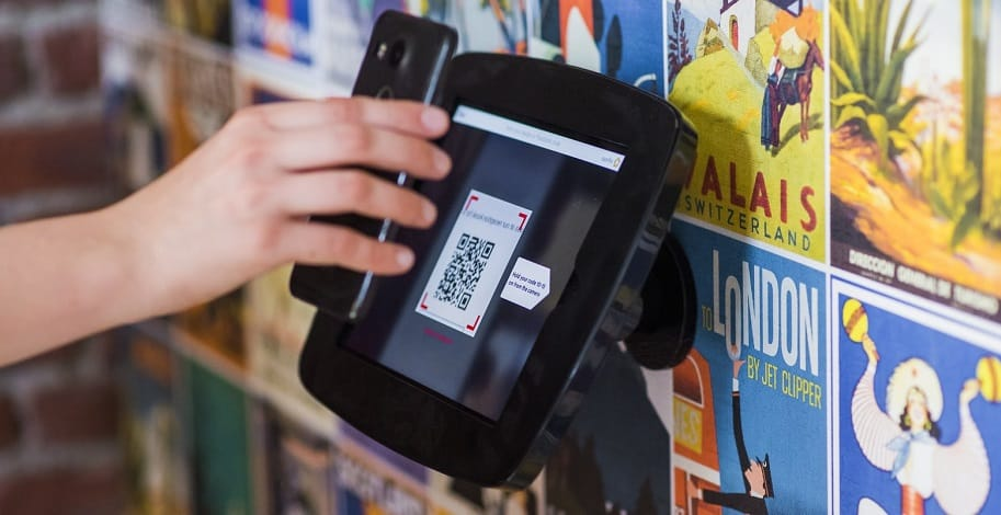 eBay Local Pickup QR Code - phone scanning code
