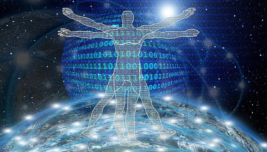 AI prostate cancer detection - binary code - technology