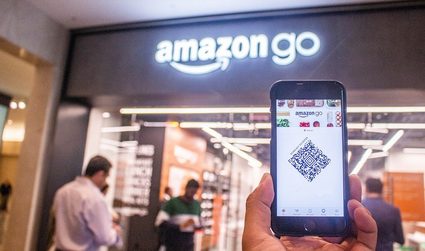 Dash Cart - Image of AmazonGo
