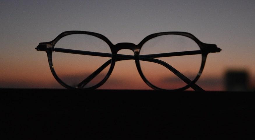 Thin VR glasses - Image of eye glasses