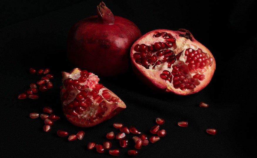 Pomegranate QR codes - Pomegranates