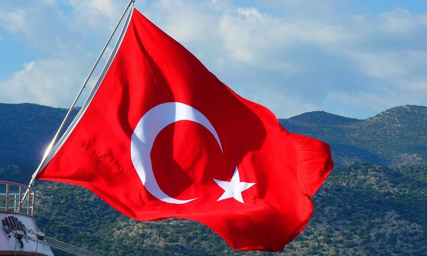 Turkey QR code payment services - Flag of Turkey