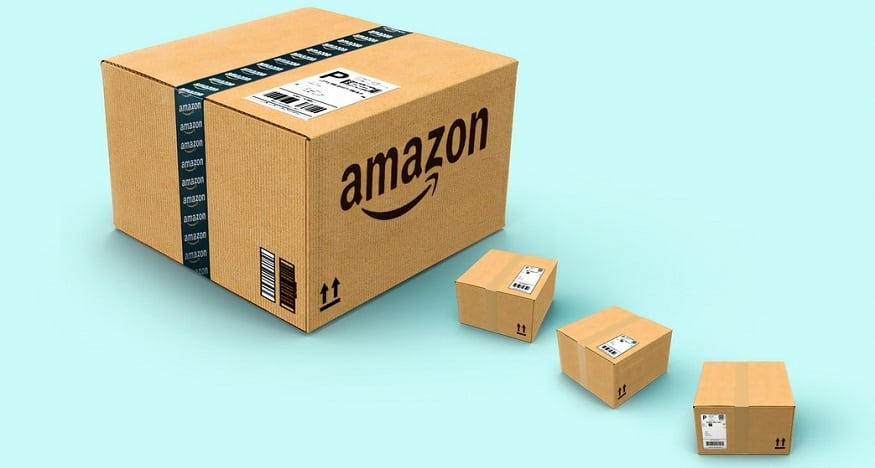 Amazon delivery - Amazon boxes