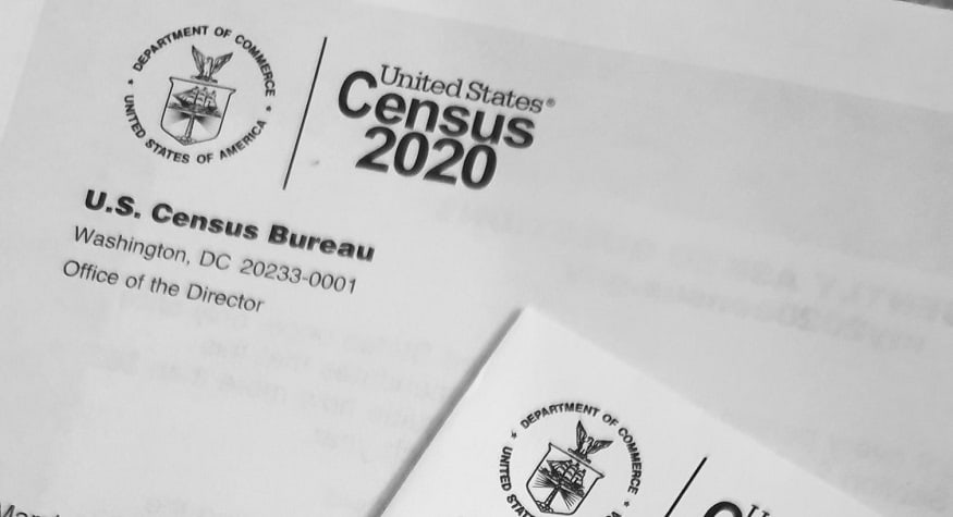 Census QR code - United States Census 2020 phamplet