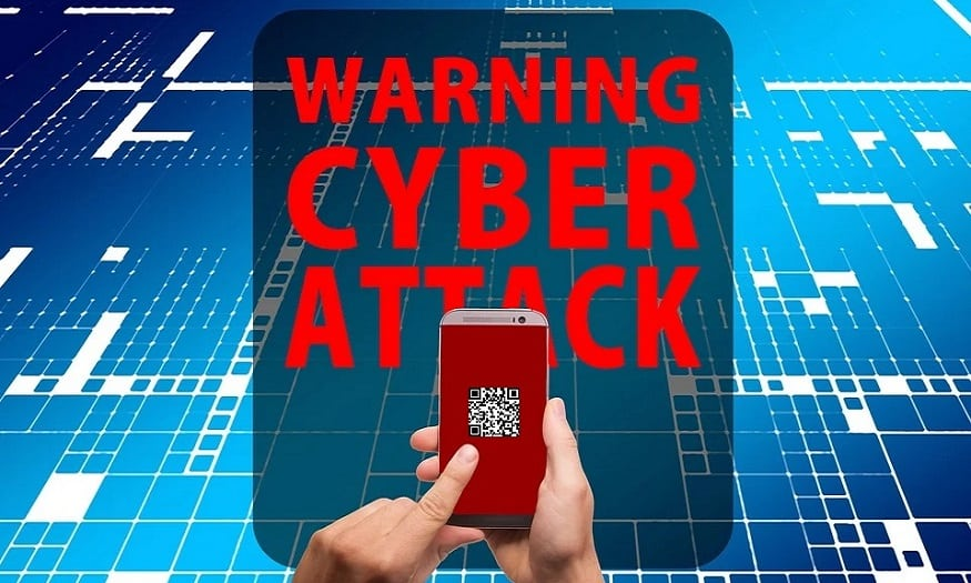 QR code security risks - cyber attack mobile phone
