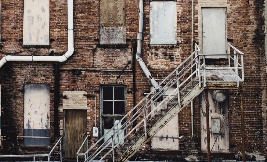 Vacancy QR codes - vacant building