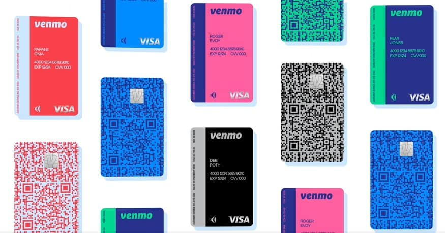 Credit card QR code - Venmo Credit Card