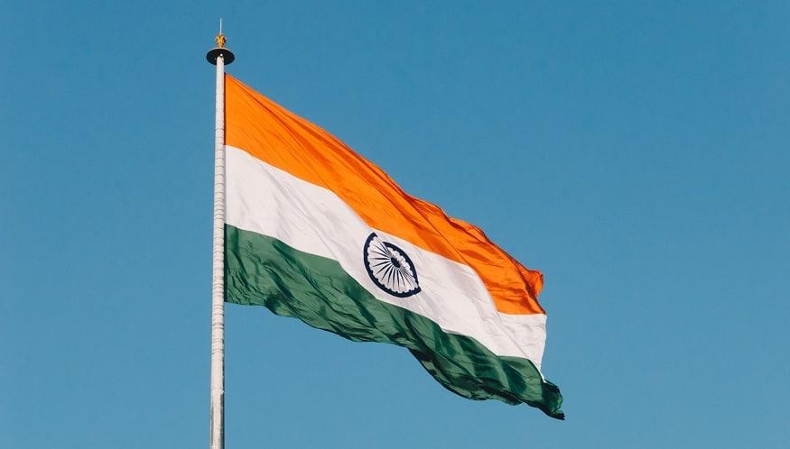 New QR codes - India flag