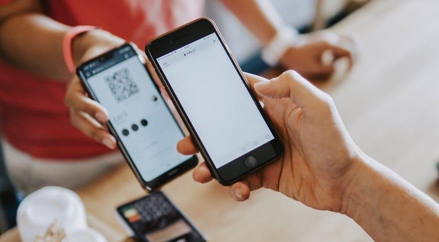 PIX mobile payments - QR code payment transaction