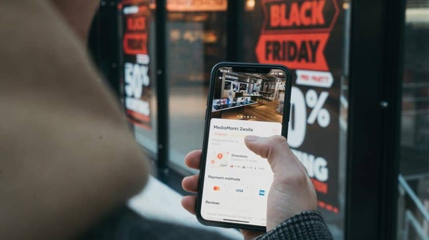 Mobile commerce security - mobile shopping black friday