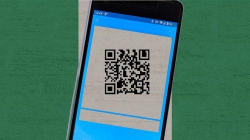 QR code payments framework - QR Code - Phone - Nigeria Flag