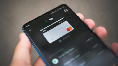 Tap to pay tickets Google Pay on phone