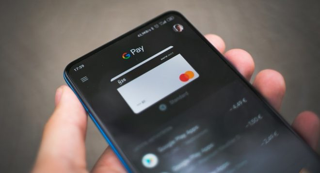 Tap-to-pay tickets - Google Pay on phone