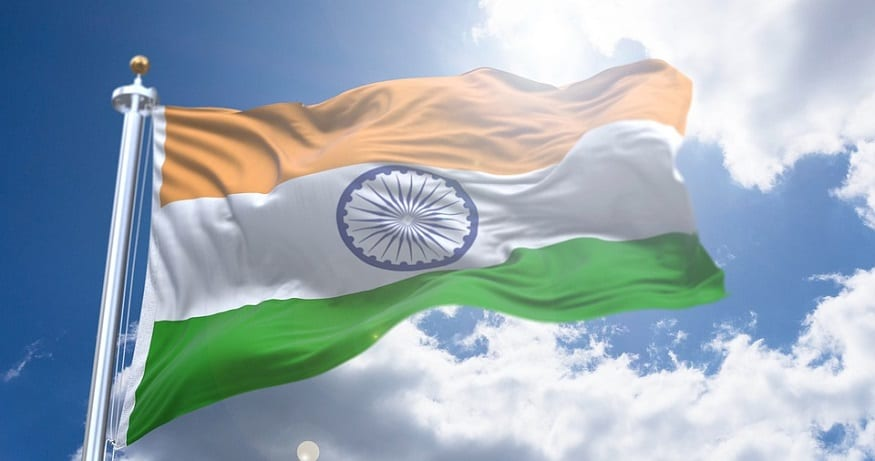 Indian mobile payments - Flag of India